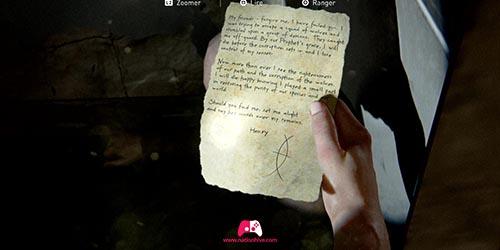 La lettre de suicide d'un scar