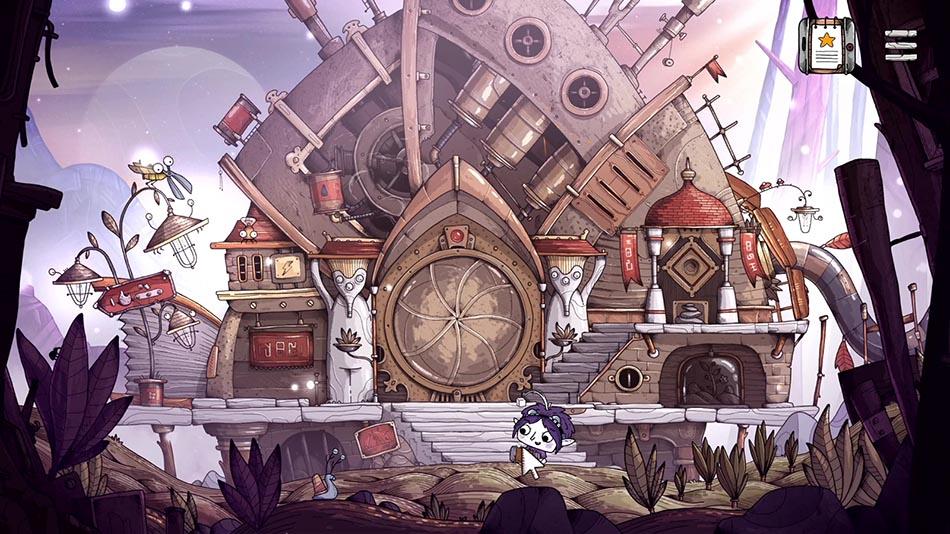 Première scène du jeu