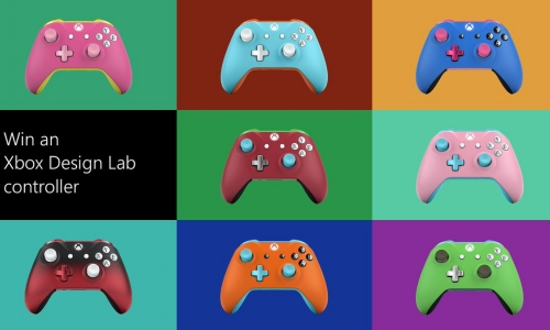 Manette provenant du Xbox Design Lab