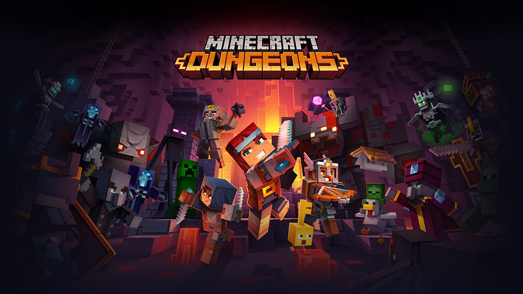 Test de Minecraft Dungeons