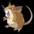 Rattatac est de la famille de Rattata