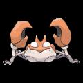 Krabby est de la famille de Krabboss