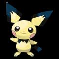 Pichu est de la famille de Pikachu
