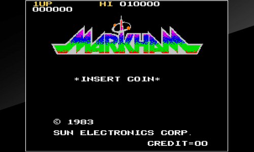 Guides et soluces de Arcade Archives MARKHAM